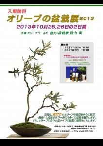 第1回・オリーブの盆栽展