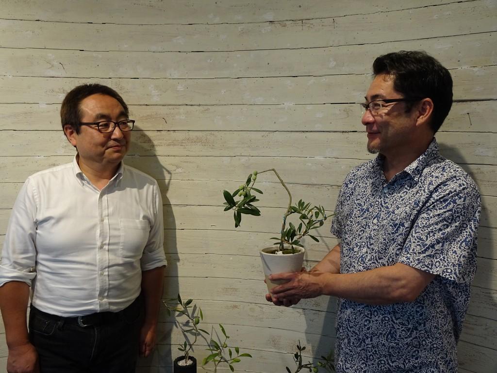 第5回おりーぶの盆栽展・神戸 元町会場